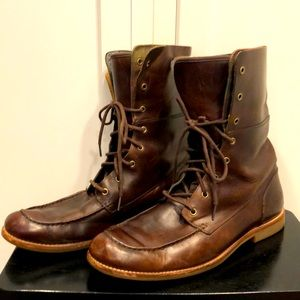 UGG Boots leather lace up 13